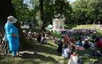Muzyczna uczta w parku